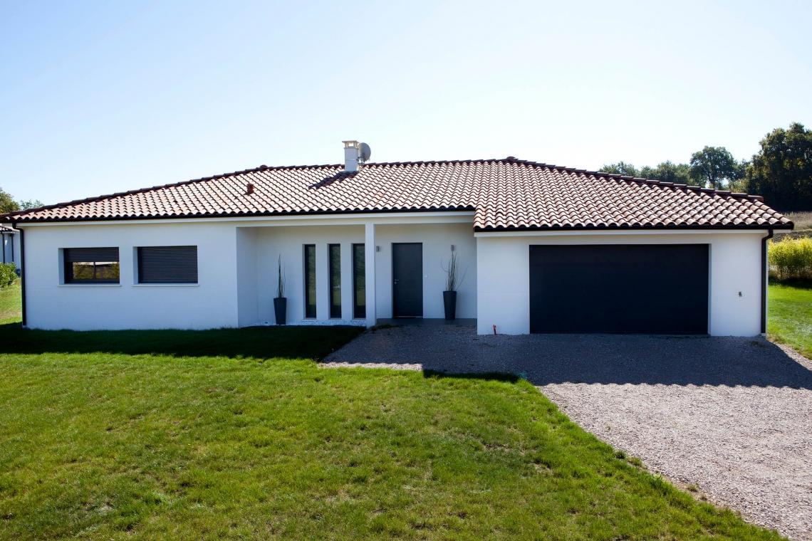 Belle maison sobre et moderne à Montastruc-la-Conseillère (31 ...