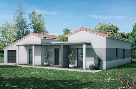 Gamme contemporaine votre maison moderne villas et for Construisez votre propre maison moderne